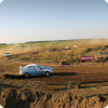 Dusty rally activity