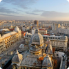 Get to know the city of Bucharest through the window of sumptuous limo.