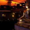 Buddhist striptease club in Bucharest