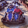Indoor go karting is fun and action in one!