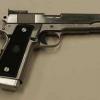Glock pistol shooting in Bucharest