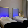 twin bedroom in bucharest central hotel