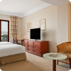 Rooms are spacious and well-equipped.