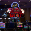 Modern and luxurious facilities of casino in Bucharest.