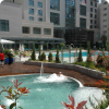 Luxury hotel outdoor jacuzzi