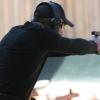 Shooting from different guns near Bucharest
