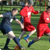 Relax on a football pitch with your stag group