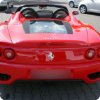 Exciting day-time activity of riding Ferrari Modena 360 for stag parties