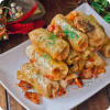 Traditional and very delicious Romanian cabbage rolls.