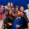 Partying in trendy club in Bucharest