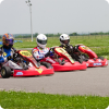 Stag party have a fun on outdoor karting in Bucharest
