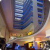 Entrance of five star hotel Bucharest
