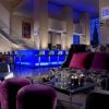 Lobby bar in Radisson Blu Hotel Bucharest