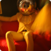 This disco ball introduce stag man who has great time in club.